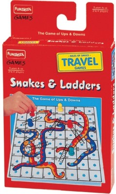 Funskool Travel Snake and ladder(1 Pieces)  available at flipkart for Rs.127