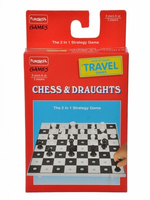 Funskool Travel Chess and Draught(1 Pieces)
