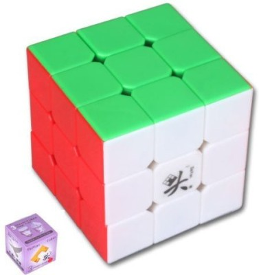 Dayan V5 Zhanchi 5Th Generation 3X3X3 Speed Puzzle Magic Cube 6 Colors(1 Pieces)  available at flipkart for Rs.2050