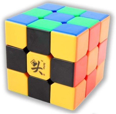 Dayan 3X3X3 Zhanchi Stickerless Speed Cube Puzzle Black 57Mm(1 Pieces)  available at flipkart for Rs.2072