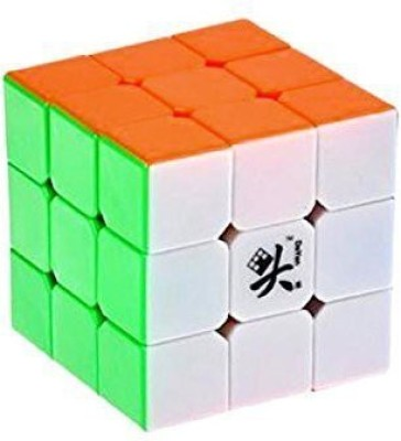 Dayan Zhanchi 3X3X3 6 Color Stickerless Speed Cube(1 Pieces)  available at flipkart for Rs.2142