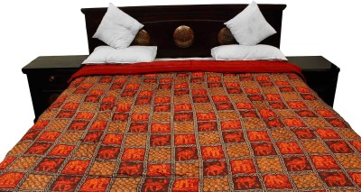 Indigocart Floral Double Quilts & Comforters Multicolor at flipkart