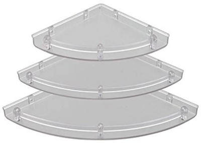 Blue Barrel ECO Acrylic Wall Shelf(Number of Shelves - 3, White) at flipkart