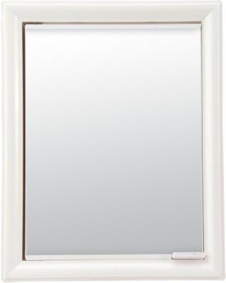 Wintex Cabi Mirror Cabinet Plastic Wall Shelf(Number of Shelves - 5, Beige)