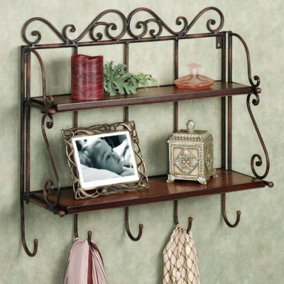 50 Off On Onlineshoppee Antique Look Foldable Iron Wooden Wall