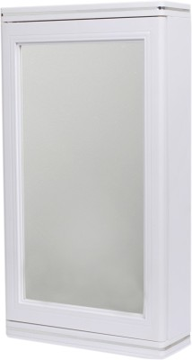 Cipla Plast Caddy Small Corner Cabinet - White (Set of 2) Polypropylene Wall Shelf(Number of Shelves - 3, White)