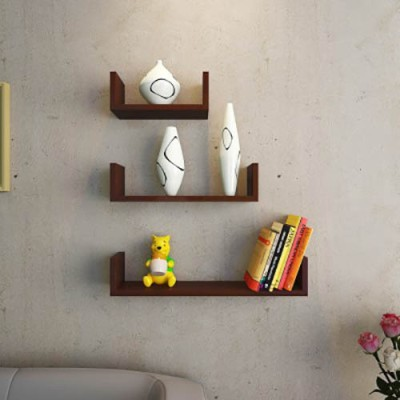 Perfect Homes by Flipkart Cole Small Shoe Rack(Brown, 2 Shelves)