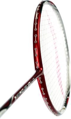 Li-Ning G Tek 88 II S2 Strung Badminton Racquet (Red, Silver, Weight - 83 g)