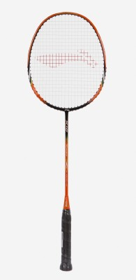 Li Ning TURBO X10 Orange Strung Badminton Racquet Pack of: 1, 82 g