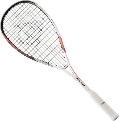Dunlop Biomimetic Evolution 120 HL White Strung Squash Racquet(Standard, 120g)