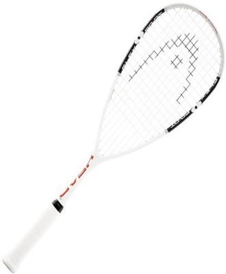 Head Flexpoint 130 White, Black Strung Squash Racquet(Pack of: 1, 130 g)