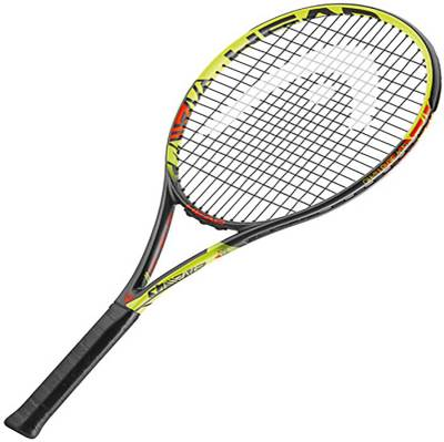 Head IG Challenge MP Yellow Strung Tennis Racquet