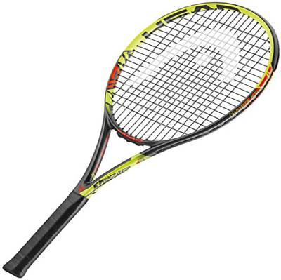 Head IG Challenge MP Yellow Strung Tennis Racquet