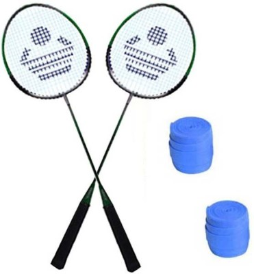Cosco Cosco CB 88 Badminton Racket Pair With Plastic Grip   Pack of 2   Multicolor Strung Badminton Racquet Pack of: 2, 200 g