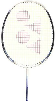 Yonex Nanoray L Plus 8 G4 Strung Badminton Racquet (White, Blue, Weight - 3U)