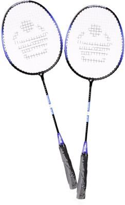 COSCO CB 89 Multicolor Strung Badminton Racquet Pack of: 2, 95 g COSCO Badminton Racquet