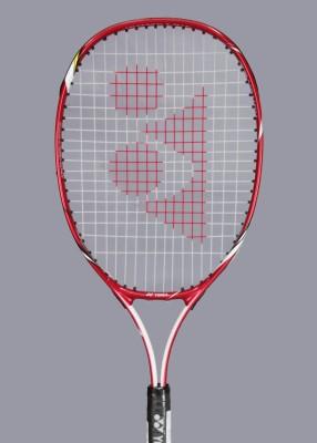 Yonex Vcore 25 Jr Pink Strung Tennis Racquet(Aluminium, Red)