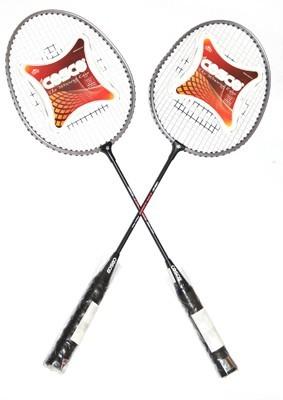 Cosco CB 150E   PACK OF 2   Multicolor Strung Badminton Racquet