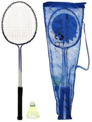 AS BOKA G4 Strung Badminton Racquet (Blue, Weight - 350 g)