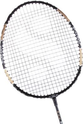 Silver's Blacken Black Strung Badminton Racquet(G3 - 3.5 Inches)