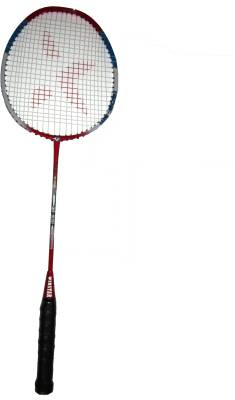 WINSTAR JOINTLESS ONE PIECE STEEL SHAFT G4 Strung Badminton Racqu...