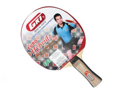 GKI Euro Hybridz Table Tennis Racquet (Multicolor, Weight - 196 g)