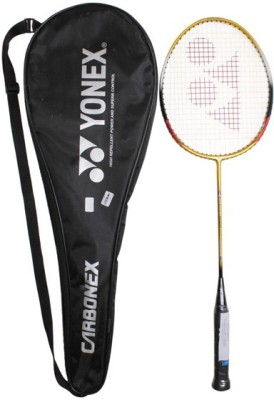 Yonex CARBONEX 8000 PLUS G4 Strung(White, Red, Weight - 85 g)  available at flipkart for Rs.2550