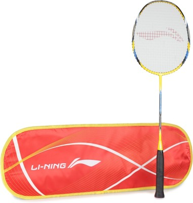 Li Ning Ss20 Multicolor Strung Badminton Racquet Pack of: 1, 84 g Li Ning Badminton Racquet