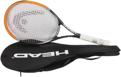 Head Titanium 3000 Orange, Black Strung Tennis Racquet(G4 - 4 1/2 Inches, 275 g)