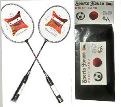 Cosco cb 90 (pack of 2) Multicolor Strung Badminton Racquet(G4 - 3.25 Inches, 335 g)