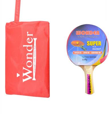 Sports 101 Wonder 5 Ply with Premium Cover Table Tennis Racquet
