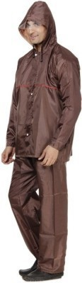 B&W Solid Men's Raincoat