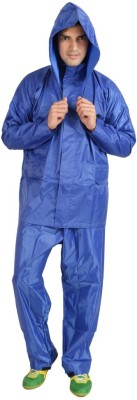 KazamaKraft Solid Men's Raincoat