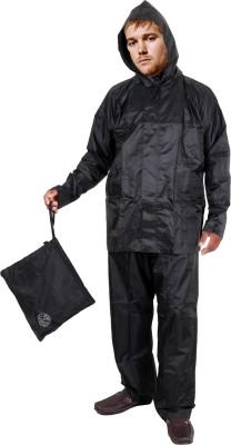 Brc Duckback Original Luxury Solid Men Raincoat