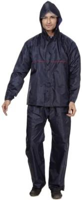B&W Solid Men Raincoat