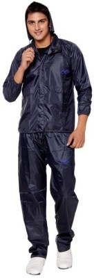 NiceG Self Design Men Raincoat