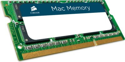 Corsair Mac Memory DDR3 8 GB (Dual Channel) Mac SODIMM (CMSA8GX3M1A1600C11)(Green)
