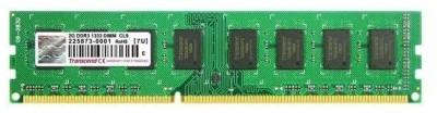 Transcend PC2-5300 DDR3 2 GB PC DRAM (JM1333KLU-2G)