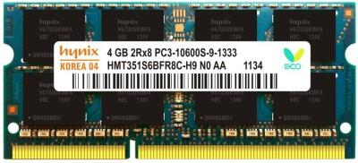 Hynix 1333MHZ DDR3 4 GB (Single Channel) Laptop DDR3 (Lapee 1333)(Multicolor)