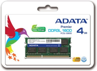 Adata Premier (ADDS1600W4G11-R) 4GB DDR3 Laptop RAM