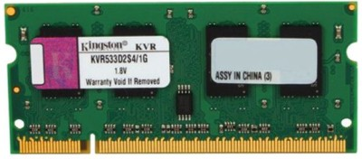 Kingston ValueRAM DDR2 1 GB (Single Channel) Laptop DDR2 (KVR533D2S4/1G)(Multicolor)
