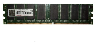 Transcend DDR400 DDR 1 GB (Dual Channel) PC (253687-0026)(Green)