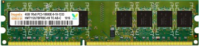 Hynix Genuine DDR3 4 GB (Single Channel) PC (H15201504-11)