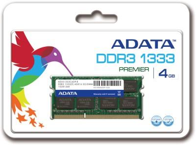 ADATA Premier DDR3 4 GB Laptop DRAM (AD3S1333C4G9-R)
