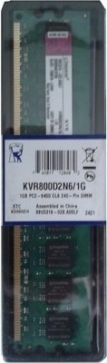 Kingston DDR2 1 GB PC DRAM (KVR800D2N6/1G/KVR800D2N5/1G-sp)