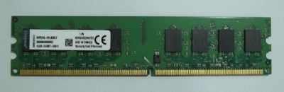 Kingston DIMM DDR2 2 GB (Single Channel) PC DRAM (KVR800D2N6/2G)(Green)