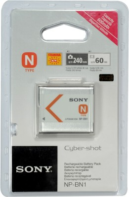 Sony NP-BN1 at flipkart