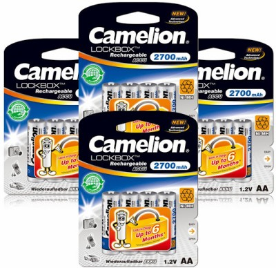 Camelion NH AA2700LBBP4 x 4 Packs Battery