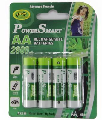Power Smart Aa Ni Mh 2800 mAh Capacity Battery