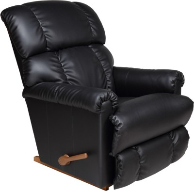 La-Z-Boy Pinnacle Leatherette Manual Rocker Recliners(Finish Color - Black)